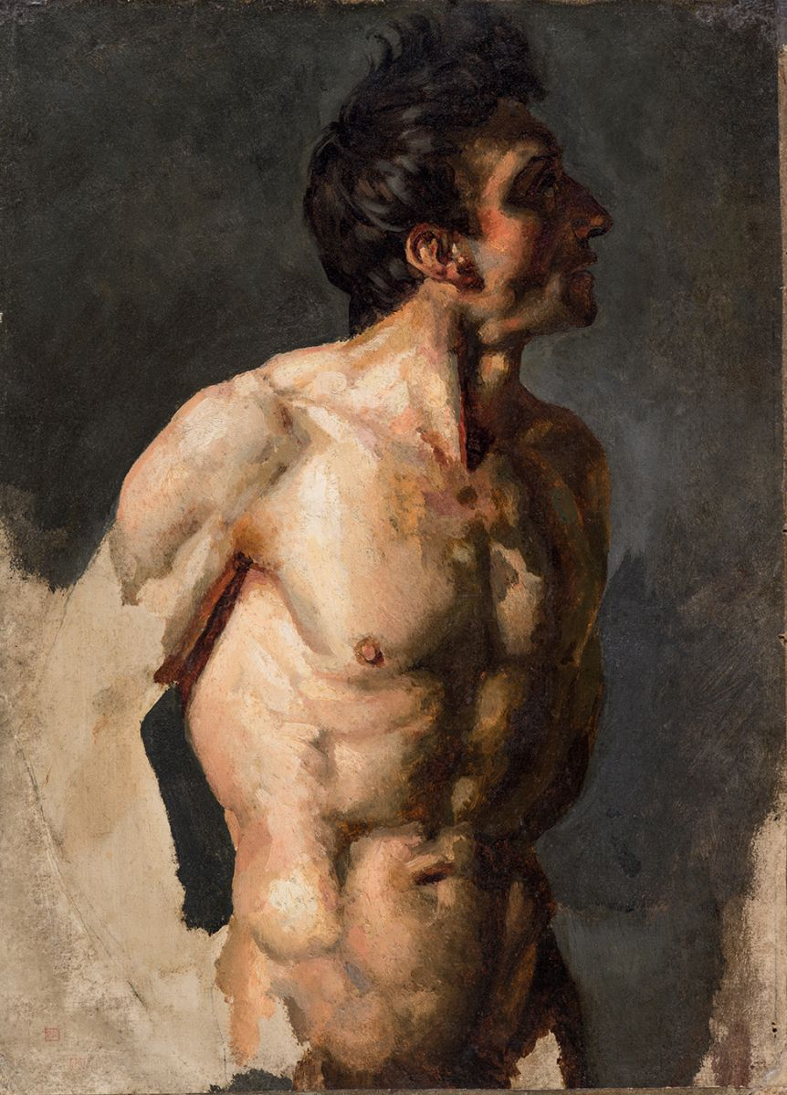 Theodore gericault male nude matchless message
